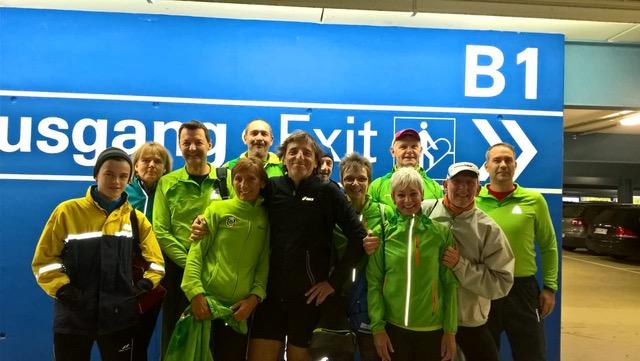 Marathonstaffel der UTSG beim Frankurt-Marathon 2017