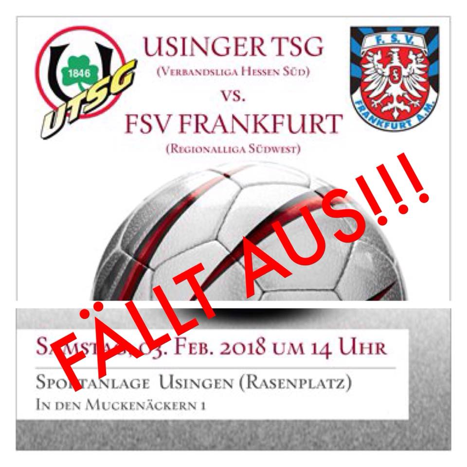 Usinger TSG - FSV Frankfurtac