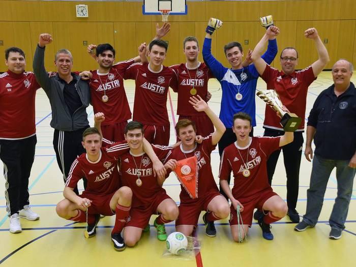 UTSG A-Junioren sind Futsal-Kreismeister