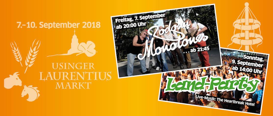 Usinger Lauretiusmarkt 2018
