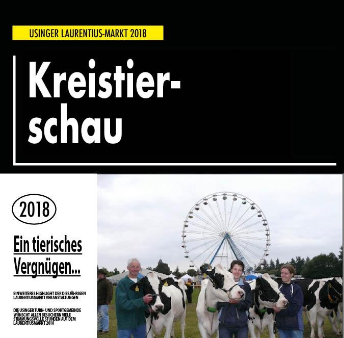 Die Kreistierschau auf dem Usinger Laurentiusmarkt 2018