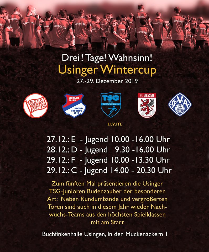 Usinger Wintercup 2019 – Jugendfußball